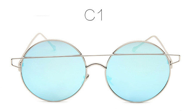 Double Wire Oversized Sunglasses