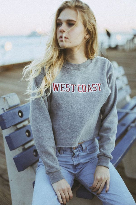 West Coast Crew neck Sweatshirt