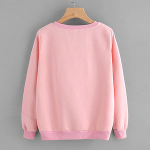 Triangle Peeking Cat Sweatshirt