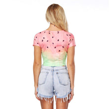 Watermelon Loose Beach Top