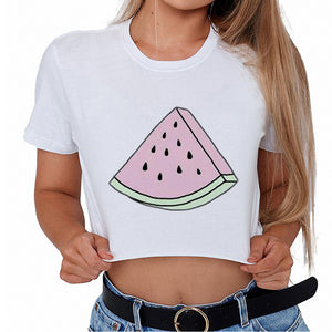 Watermelon Crop Top Kawaii