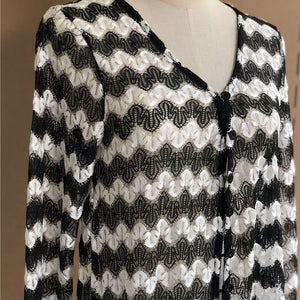 Black and white Beach Blouses