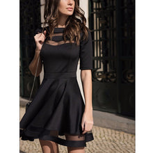 Spring Dress - Black Party Dress