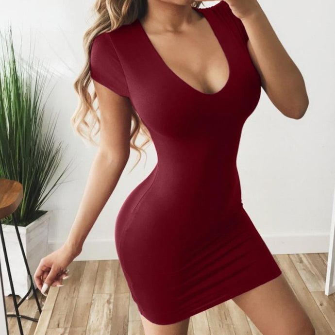Mini Dress Bodycon Dress