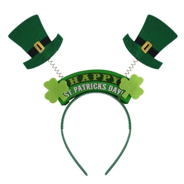 St. Patricks Day Party Hat Headband