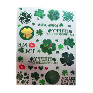 St. Patricks Day Temporary tattoos