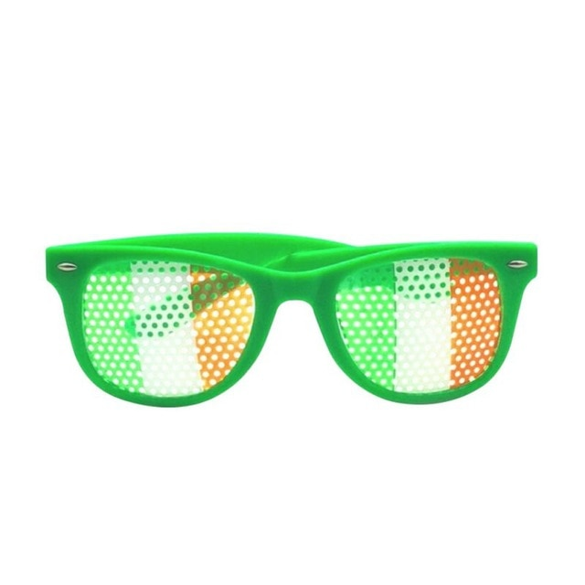 St. Patricks Day Irish Flag Sunglasses