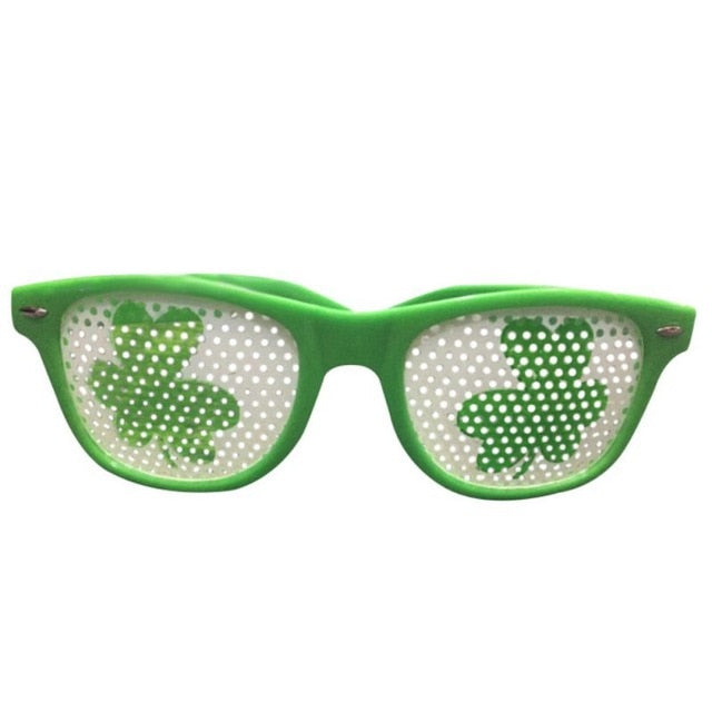 St. Patricks Day Shamrock Sunglasses