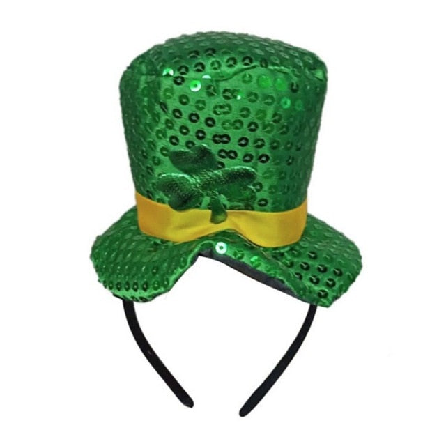 Lucky St. Patricks Day Green Hat