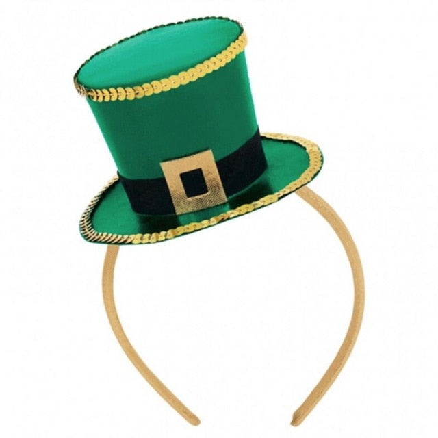 Leprechaun St. Patricks Day Green Hat