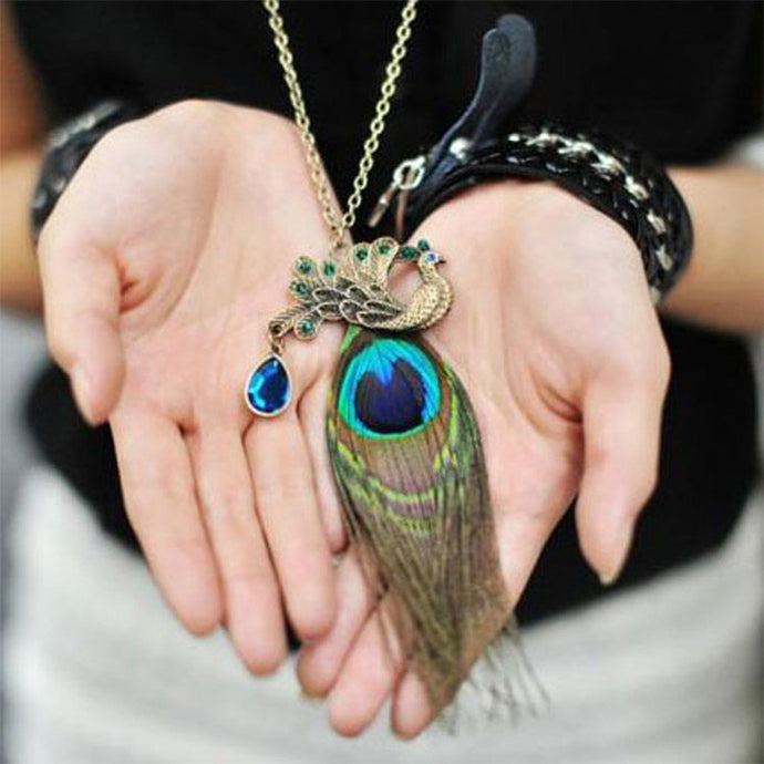 Bohemian Peacock Phoenix Necklace