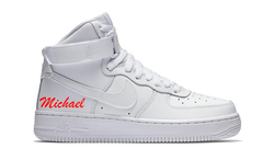 Name Decal on Air Force 1 High