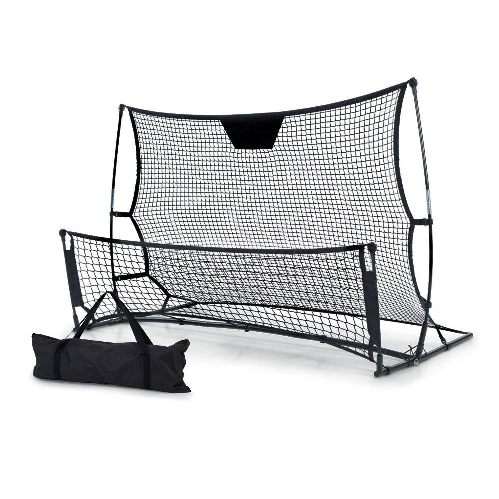 Everfit Portable Soccer Rebounder Net Volley Training Football Goal Pass Trainer - Kids Decor Factory
