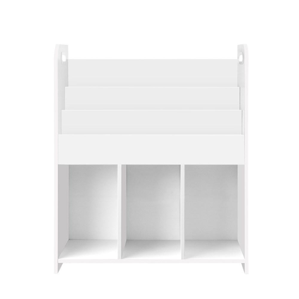 Keezi Kids Bookshelf Display Cabinet Toys Storage Organizer - Kids Decor Factory