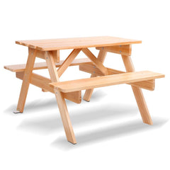 Keezi Kids Wooden Picnic Bench Set - Kids Decor Factory