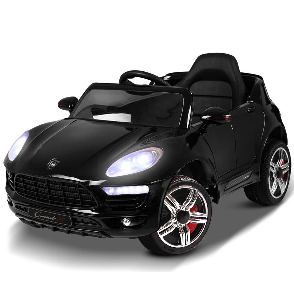 Rigo Kids Ride On Car - Black - Kids Decor Factory
