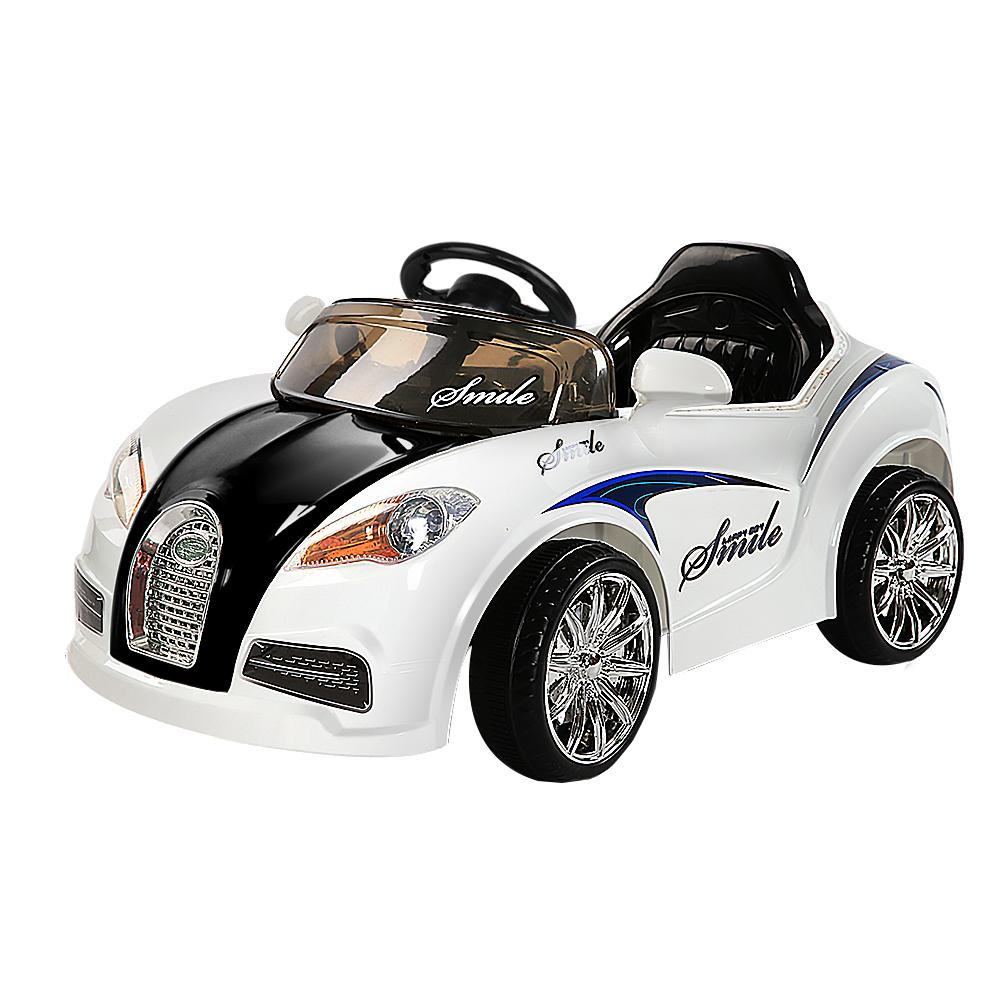 Rigo Kids Ride On Car - Black & White - Kids Decor Factory