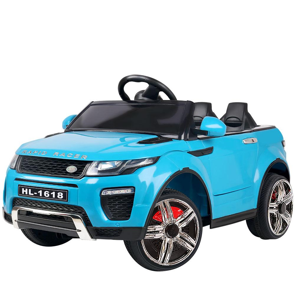 Rigo Kids Ride On Car - Blue - Kids Decor Factory