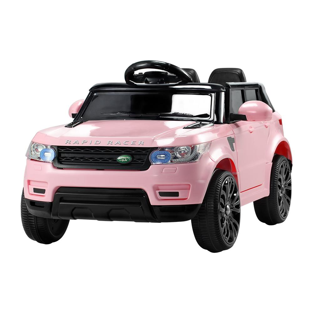 Rigo Kids Ride On Car - Pink - Kids Decor Factory