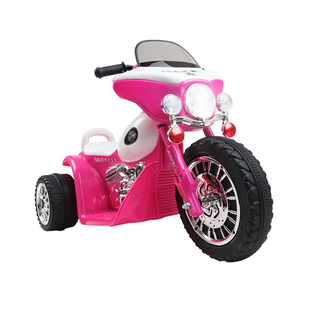 Rigo Kids Ride On Motorbike Motorcycle Toys Pink - Kids Decor Factory