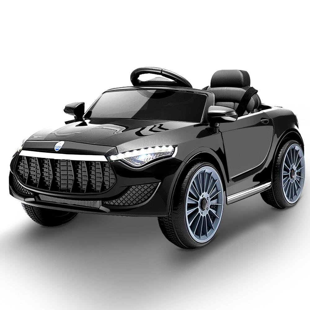 Rigo Maserati Kids Ride On Car - Black - Kids Decor Factory