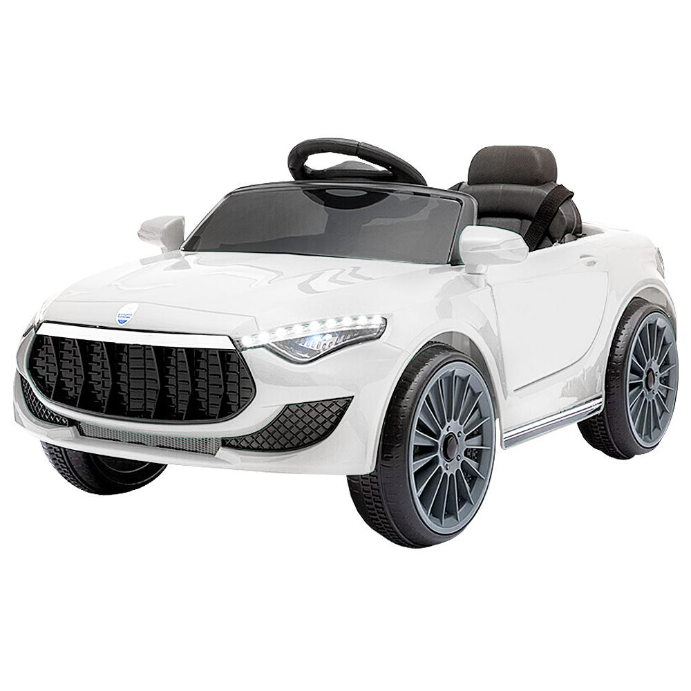 Rigo Maserati Kids Ride On Car - White - Kids Decor Factory