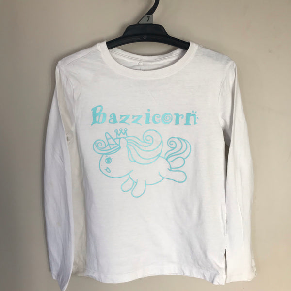 TSHIRT - Personalised with your childs name with Unicorn image