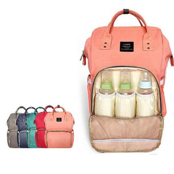 City Tour Backpack Diaper Bag