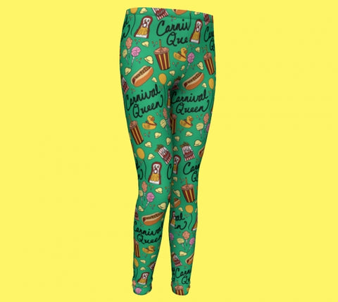 Carnival Queen Youth Leggings PRE-SALE