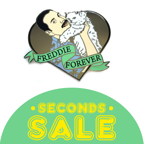 SECONDS SALE: Freddie Forever Enamel Pin