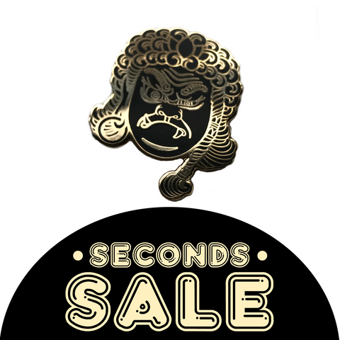 SECONDS SALE: Fudō Myō-ō Hard Enamel Pin