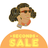 SECONDS SALE: Jan Enamel Pin