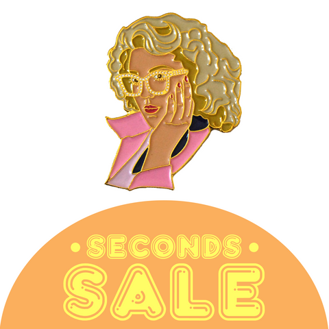 SECONDS SALE: Marty Enamel Pin