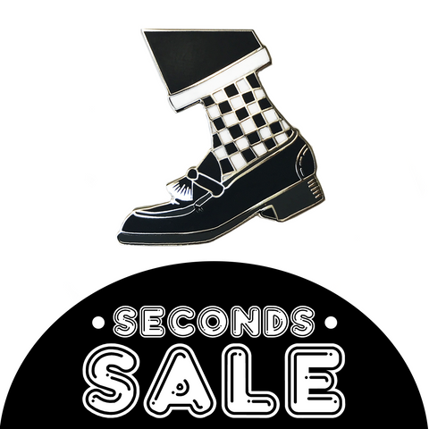 SECONDS SALE: One Step Beyond Hard Enamel Pin