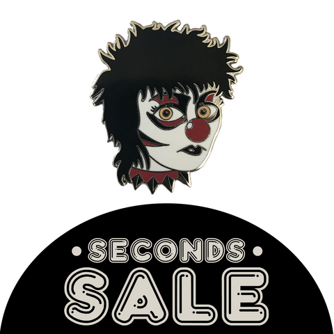 SECONDS SALE: Siouxsie the Clown Hard Enamel Pin