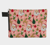 Kitschy Pink Christmas Clutch