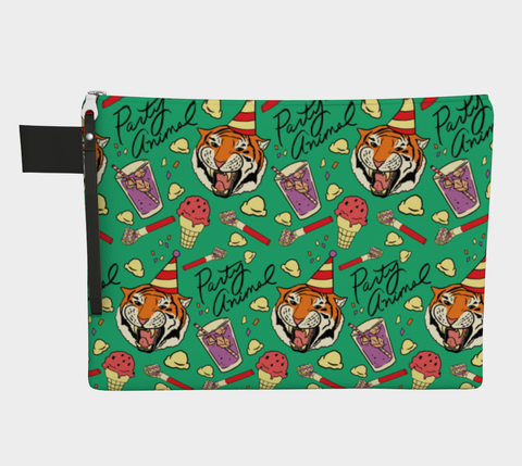 Party Animal Tiger Clutch