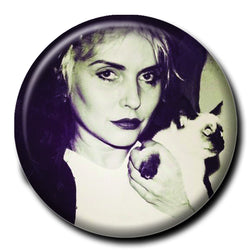 Debbie Harry Holding a Cat 1.75