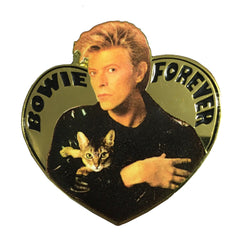Forever Bowie Enamel Pin