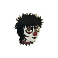 Siouxsie the Clown Hard Enamel Pin by Matthew Sylar x Wild Tiger Pins