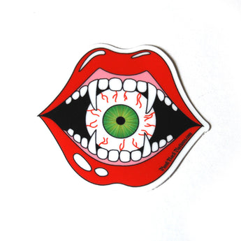 Eyeball Eater Sticker