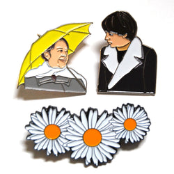 Harold and Maude Enamel Pin Set