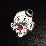 Dalton the Sad Clown Soft Enamel Pin by Matthew Sylar