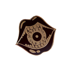 Eyeball Eater Hard Enamel Pin