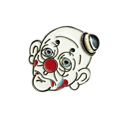 Dalton the Sad Clown Soft Enamel Pin
