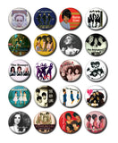 "Girl Groups 1"" Pinback Buttons"