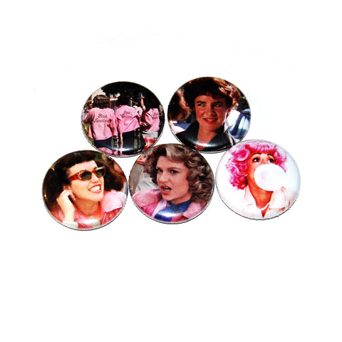 "Grease 1"" Pinback Button Set"