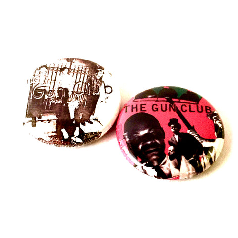 "Gun Club 1"" Pinback Button Set"