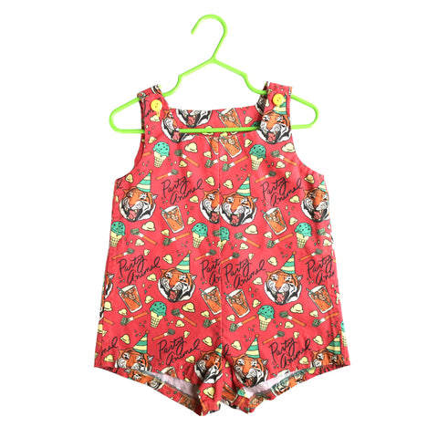 Party Animal Tiger Sunsuit Romper