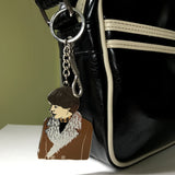 Harold and Maude Keychain